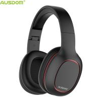 Wholesale Ausdom NEW M09 Cost-Effective Over Ear Foldable Super Lightweight CD-Like Sound Bluetooth Headphone Support TF Card from china suppliers