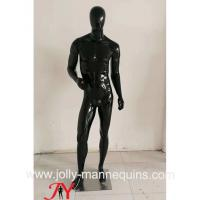 Wholesale Jolly mannequins- Stock black glossy male mannequins full body mannequins with standing pose M-103C from china suppliers