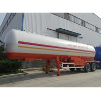 Wholesale high quality and cheapest price 2 axles 17tons lpg gas tank trailer for sale, factory sale best price 40.5m3 lpg trailer from china suppliers