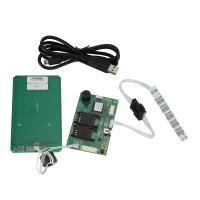 Wholesale RFID USB Smart Car Reader Writer For TWO SAM Cards , Contactless RF Card Reader from china suppliers