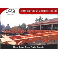 Wholesale 3 Axle used container semi trailer , 40ft skeletal trailer chassis semi trailer from china suppliers