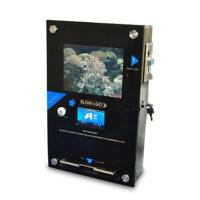 Coin-operated Breathalyzer with Fuel Cell Sensor, Designed with LCD Advertising Player Bre