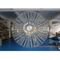 Buy cheap PVC Or TPU Inflatable Land Zorb Ball For Event / Giant Human Hamster Ball from wholesalers