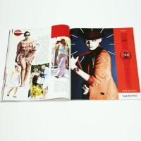 Wholesale UV Varnishing / Aqueous Coating Full Color Magazine Printing With Addle Stitched Binding from china suppliers
