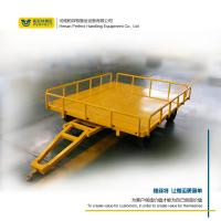 Wholesale custom 1-200 ton flat trailer towed by forklift handing equipment from china suppliers