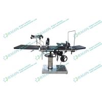 Wholesale Multi - purpose carbon steel radiolucent operating table with plastic spraying from china suppliers