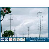 Buy cheap 18m 230KV Polygonal Electric Steel Tubular Pole For Overhead Project from Wholesalers