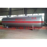 Buy cheap hot sale CLW brand 80 cubic meters liquefied petroleum gas storage tank, best price 80,000L surface lpg gas storage tank from Wholesalers