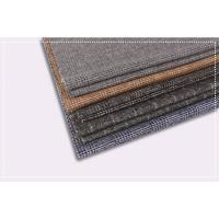 Wholesale Tartan Plaid Coating Wool Fabric , Double Faced Cashmere Fabric ISO 9001 Certificate from china suppliers