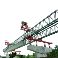 Buy cheap Highway Bridge Construction Concrete Beam Launcher Crane from wholesalers
