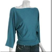 Wholesale Ladies Cashmere 3/4sleeve Sweater, Pullover (SFY-A016) from china suppliers