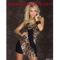 Wholesale sexy chest wrapped models hit the color dress leopard dress clubwear sexy lingerie wholesale YY9059 from china suppliers