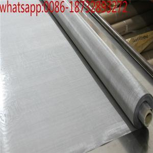 China Temperature Resistant 200 Micron 100 Mesh Tungsten Wire Mesh/99.9% pure tungsten filter wire mesh screen on sale