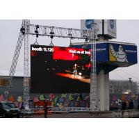 Wholesale IP65 Large Full Color Rental Led Display Outdoor Tv Screen 8kg / Pcs Per Cabinet from china suppliers
