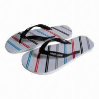 Wholesale New Design Brazil PE Slippers, Available in 41 to 46# Sizes from china suppliers