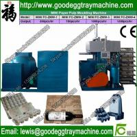 China Egg Tray Machine Price / Small Paper Recycling Machine / Shuanghuan Machinery on sale