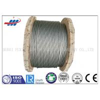 Wholesale Strong Galvanized Steel Wire Rope , Aircraft Grade Wire Rope Anti Rotation For Heavy Machinery from china suppliers