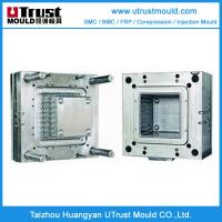 Wholesale Plastic injection molding small handle transparent plastic tool box mould from china suppliers