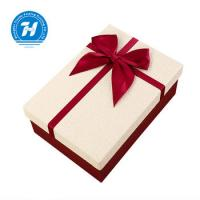 Wholesale Rigid Personalized Wedding Favor Boxes With Bow - Knot FSC Certification from china suppliers