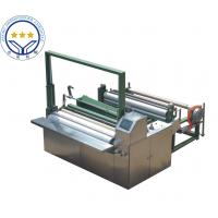 Wholesale High Speed 50hz Non Woven Cutting Machine Color Touch Screen Parameter from china suppliers