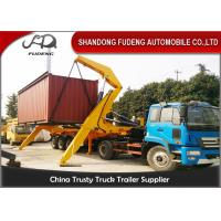 Wholesale 40 Foot Container Side Lifter Crane Truck Trailer  Heavy Load Capacity from china suppliers