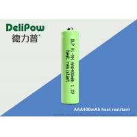 400mAh Heat Resistant Aaa Rechargeable Nimh Batteries 1.0v~1.2V Voltage