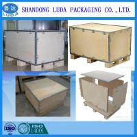 Wholesale export collapsible plywood box with pallet from china suppliers