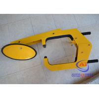 Wholesale Heavy Duty Caravan Security Wheel Clamps 3 - 3.5mm Thickness Truck Wheel Lock from china suppliers