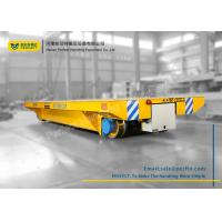 Quality Custom Battery Transfer Cart Electric Railway Platform for Building Site for sale