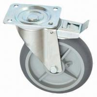 Wholesale Industrial Caster Wheel and Roller with Diameter of 125, 150 and 200mm from china suppliers