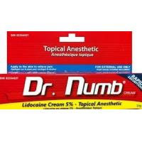 Wholesale OEM Dr.Numb Lidocaine Pain Relief Tattoo Anesthetic Cream from china suppliers