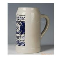 Wholesale EXPORT beer mug ceramic beer cup 1L custom LOGO for your design from china from china suppliers