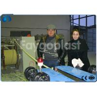 Wholesale 4~100mm PVC Single Wall Corrugated Pipe Making Machine Single / Double Screw Extruder from china suppliers