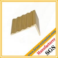 stair nosing / edging / trims made of brass copper alloy extrusion profiles