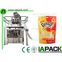 Wholesale Puppy Food Bag Rotary Premade Pouch Machine Granules Packing Large Capacity from china suppliers