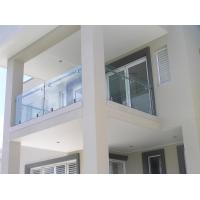 Wholesale Stainless steel spigot glass railing/ glass balustrade for balcony use design from china suppliers