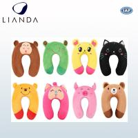 China Durable Travel Neck Support Travel Pillow For Airplane , Animal Printing Customized on sale