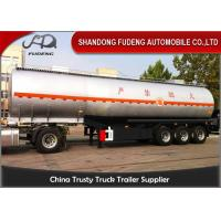 Wholesale 4 Inch Oil Outlet Diesel Fuel Tanker Semi Trailer With 5 Compartments from china suppliers