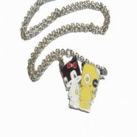 Wholesale Cartoon Animal shape Custom Hang Tags / pendant necklace for Souvenir gifts from china suppliers