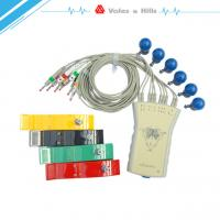 Wholesale Gray 12 Lead Mall Size PC Based Computer ECG Medical Device PC ECG Machine from china suppliers