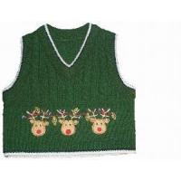 Wholesale Boy′s Knitted Vest, Cable Sweater (SFY-A044) from china suppliers