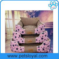 2017 New Pet Product Supply Washable Canvas Pet Dog Bed