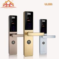 China Touch Screen Biometric Lock Door Lock With Fingerprint Scanner , Voice Prompt on sale