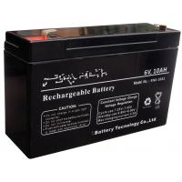 Wholesale Industrial 6 Volt 10ah Rechargeable Battery , Lead Acid Storage Battery from china suppliers