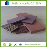 Buy cheap Construction material new price WPC supplier Chinese wood plastic composite from wholesalers