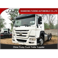 Buy cheap Q345B Carbon Steel Second Hand 420HP Tractor Head Trucks from wholesalers