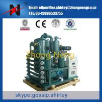 ouble Stage Vacuum Transformer Oil Purifier, Insulating Oil Filtration Machine, Oil Recycling System