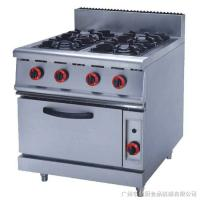 Wholesale Silver Commercial Kitchen Equipments ZH-RQ-4 , 4.8KW PNG Gas Burner With Oven from china suppliers