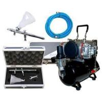 Wholesale Low noise, 47db Professional Airbrush Tattoo Kit with 7cc Airbrush for women, kids from china suppliers