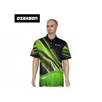 China Polyester Spandex High Quality All Over Printed Sports Polo T-Shirt on sale